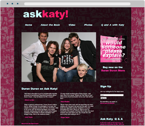 Ask Katy Book Website