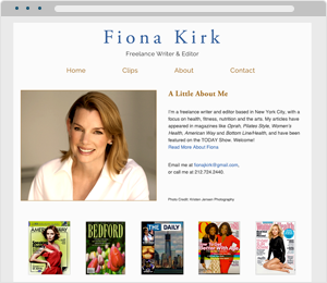 Fiona Kirk Author Website