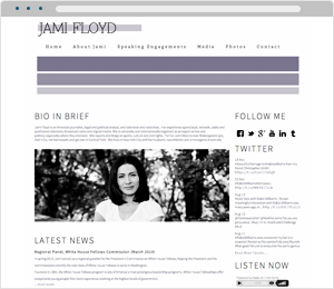 Jami Floyd Author Website