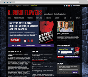 R Barri Flowers Author Website