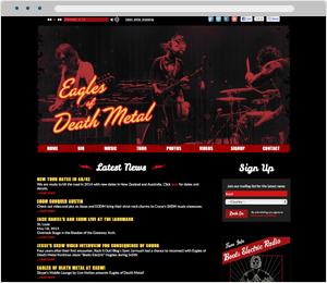 Eagles of Death Metal Bad Website