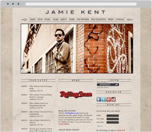 Jamie Kent Musician Website