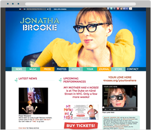 Jonatha Brooke Musician Website